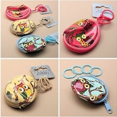 Mini Owl zip purse with hairbands Molly & Rose Girl Childrens Kids Gift