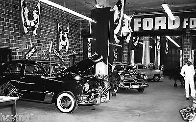 New 1950 Ford Dealership Display Showroom  8 x 10 Photograph