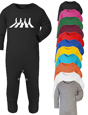 The Beatles Music Inspired Baby Babygrow Bodysuit One Piece Music Fan Baby Gifts
