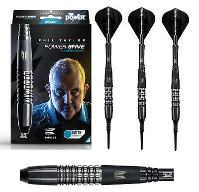Target Dart - Phil The Power Taylor 9Five Gen4 18g 20g (Soft-Dart) 3 Dartpfeile