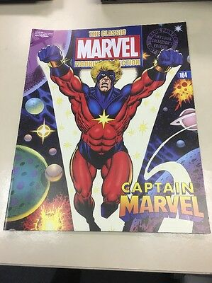 The Classic Marvel Figurine Collection 164 Captain Marvel