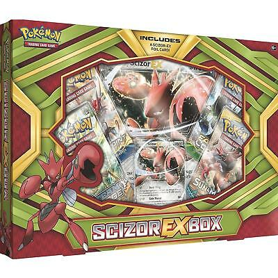 Pokemon Trading Card Game: Scizor-EX Collection Box Inc 4 boosters 1 foil + more