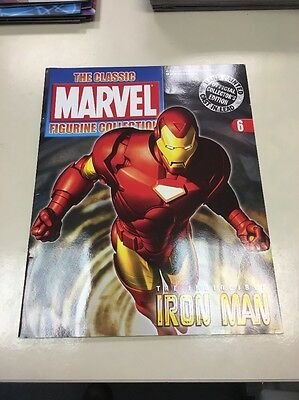 The Classic Marvel Figurine Collection 6 Ironman