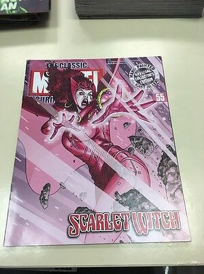 The Classic Marvel Figurine Collection 55 Scarlet Witch