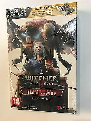 The Witcher 3 Wild Hunt Blood and Wine + Gwent  (154 Cards Total) - English