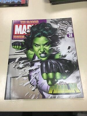 The Classic Marvel Figurine Collection 38 She Hulk