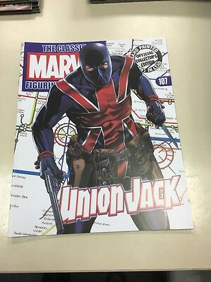 The Classic Marvel Figurine Collection 107 Union Jack