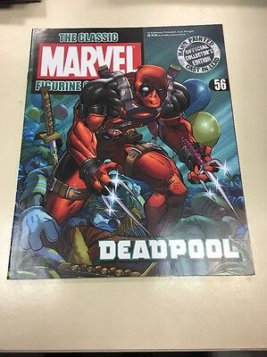 The Classic Marvel Figurine Collection 56 Deadpool