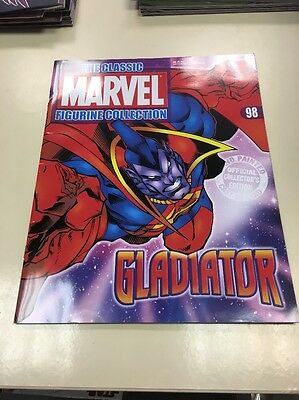 The Classic Marvel Figurine Collection 98 Gladiator