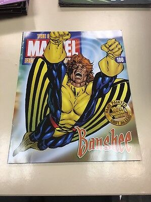 The Classic Marvel Figurine Collection 100 Banshee