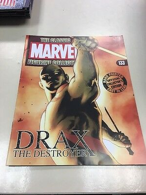 The Classic Marvel Figurine Collection 133 Drax The Destroyer