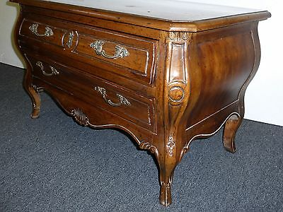 Vintage Drexel Heritage 2 Drawer Bombay Style NIGHTSTAND Chest Entry Table