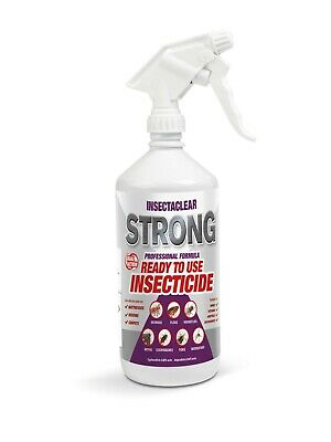 Insecto 500ml Ready to use House Home Carpet Clothes Moth Spray Killer moths