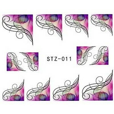 Stickers Ongles Water Décal Nail Art STZ-011 LIVRAISON 24/48H