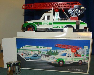 1994 Hess Gasoline Rescue Truck with Ladder New NIB Mint