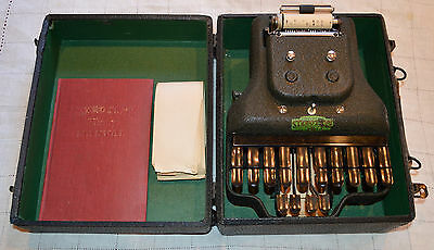 Vintage 1930s Master Model Four Stenotype Machine La Salle Extenstion University