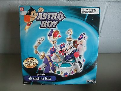 Astro Boy--Bandai Astro Lab Playset, New In Box. By Bandai And Cartoon Network.