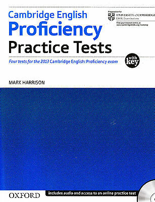 Cambridge English Proficiency CPE Practice Tests w Key & Audio NEW for 2013 Exam