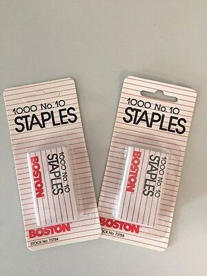 No. 10 Tot Staples 2 Boxes