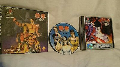 Tekken 1,2 and 3 ps1 PlayStation one games bundle