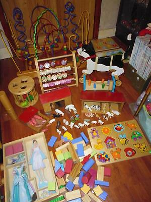 Bundle Wooden Baby/Toddler Toys-Educational Toys ELC & More