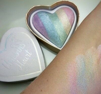 MAKEUP REVOLUTION I Heart Makeup Unicorns Heart HIGHLIGHTER RAINBOW HIGHLIGHTER