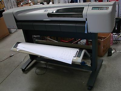 "HP DesignJet 500 500ps 42"" Large Format Printer Plotter USB ETHNET READY"