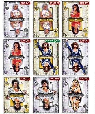 Topps WWE Slam - DIGITAL - Queen Of The Ring Complete Set 60 Cards w/ Awards