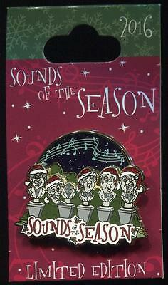 DLR Sounds of the Season Haunted Mansion Singing Busts LE Disney Pin 119524