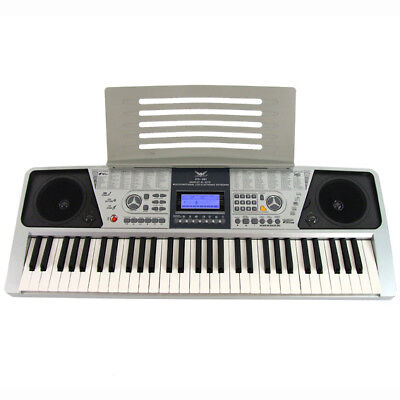 New 61 Key Electronic Digital Teaching Keyboard Electric Piano Organ LCD Display