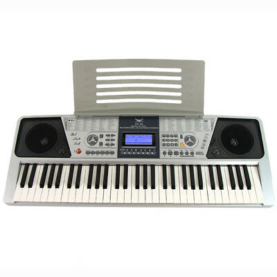 New 61 Key Electronic Keyboard Electric Digital Teaching Organ Piano LCD Display