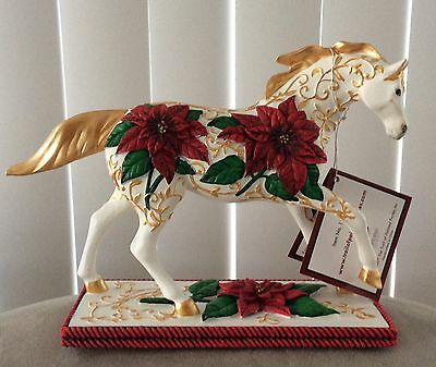 Poinsettia Pony - Trail Of Painted Ponies, 1E 5172 NEW IN BOX First Edition