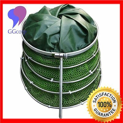 Floating Wire Basket, Collapsible fishing net cage (Rubberized Basket)