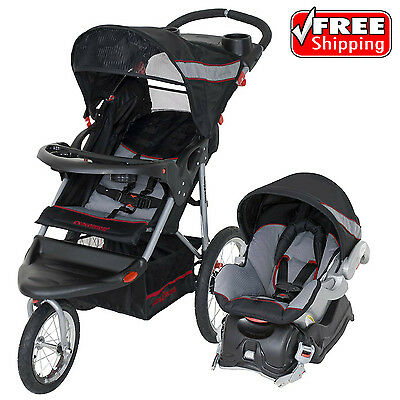 Baby Trend Expedition Jogger Stroller Travel System Millennium Infant Car Seat