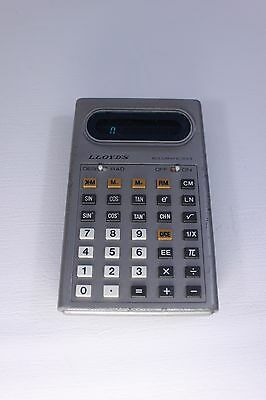 Lloyd's Accumatic 333 calculator (ref 802)