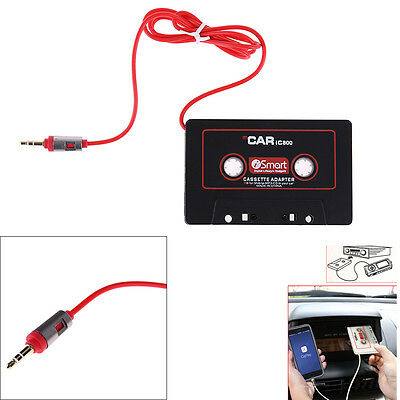 3.5mm AUX Audio Plug Car Cassette Tape Adapter Converter for iPhone7 iPod Mp3 CD