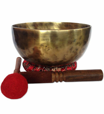 Antique Finishing Color 7.5 Inch Tibetan High quality Meditation Singing Bowl