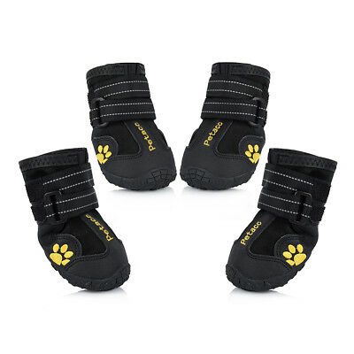 Splash Waterproof Pet Boots for Medium to Large Dogs Labrador Husky Shoes size 6