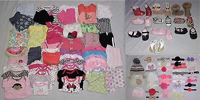 Baby Girl Size 3-6 Months Clothes, Shoes & Accessories Lot