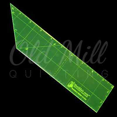 Rainbow Ruler 10 x 2.5 Inch Matildas Own Quilting Sewing Craft Measure