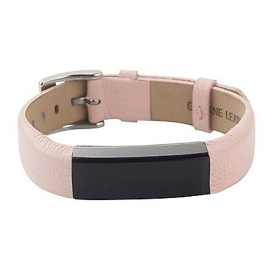 Leather Bands Strap for Fitbit Alta and Fitbit Alta HR Replacement Wristband ...
