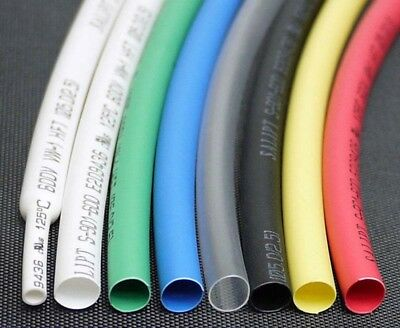 0.6-11mm Dia Heat Shrink 2:1 Shrinkable Heatshrink Tube Sleeving Wrap Wire Cable
