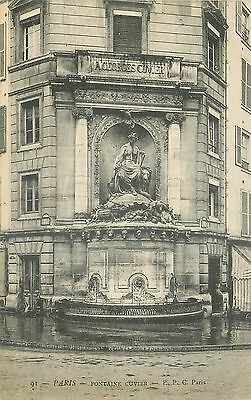 Cp Paris Fontaine Cuvier