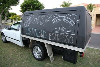 2007 Ford Falcon AUTO coffee van