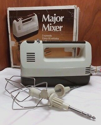 Retro - Major Mixer electric beater - with original box  - Made in France