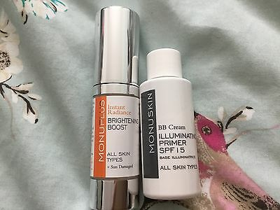 Monu Skincare brightening boost & illuminating primer