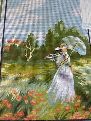 Lady With Parasol Margot Creations De Paris New Look 332 Tapestry Canvas