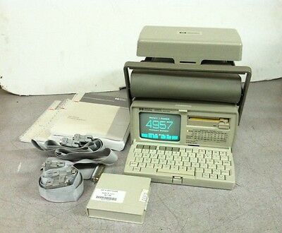 Vintage Hewlett Packard Protocol Analyzer 4957A w/ Cables + Manuals