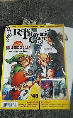 Magazine ROLE PLAYING GAME 48  - 2 posters en plus - Zelda 30 th anniversary