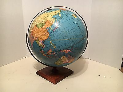 Vintage 1970`s World Globe in VERY GOOD CONDITION